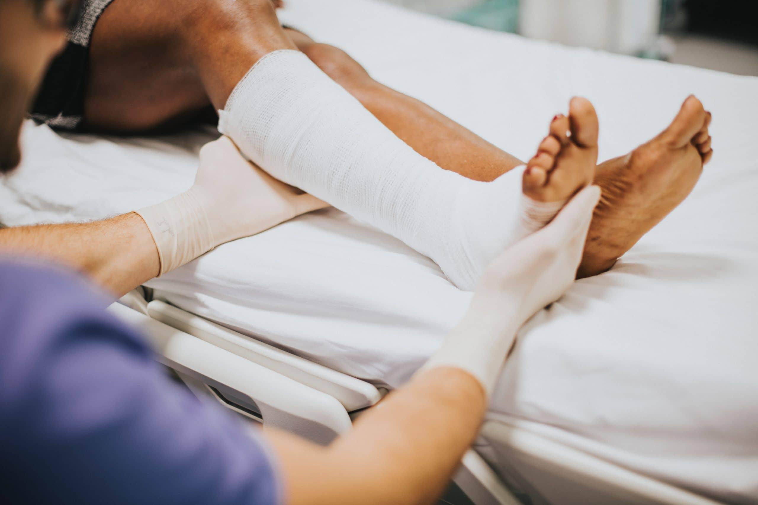 Personal leg injury